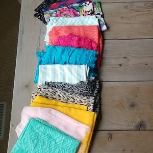Fabric for scarfs